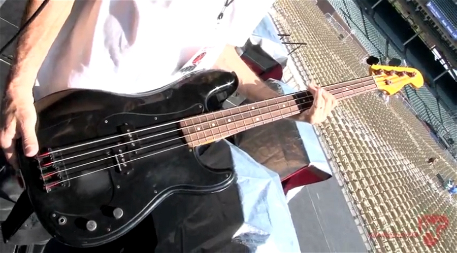 Fender Roger Waters signature Precision Bass with rosewood neck (The Wall tour, 2012)