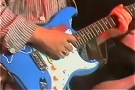 Chris Rea | Blue Strat with a sticker