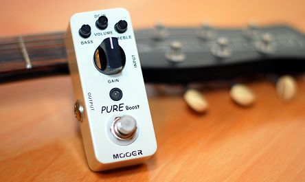Mooer Pure Boost (Xotic RC Booster clone)