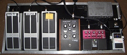 Andy Summers Rig The Police Reunion Tour 2007