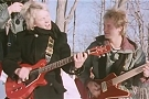 Andy Summers and Sting with their Hamer guitars