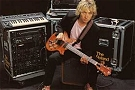 Andy Summers - advert of Roland GR-300 guitar synth and G-303 guitar